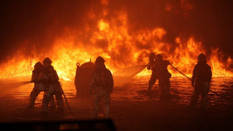 pożar rozprzestrzenianie