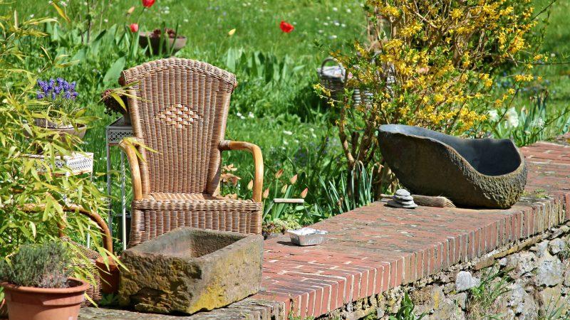 fotel do ogrodu